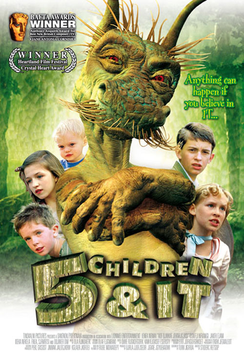 <h2>Five Children and It (2003)</h2>The creature It for the film was created by Jim Hensons Creature Shop in London under Jamie Courtiers supervision. Göran worked as painter and art-finisher at the creature shop during spring/ summer of 2003.