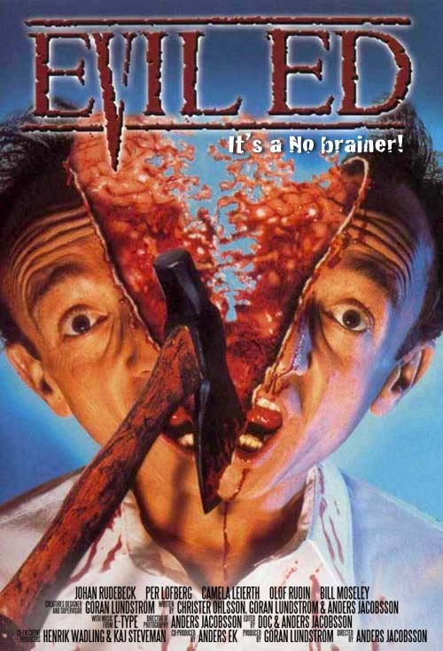 <h2>Evil Ed (1995)</h2>Göran produced this first real Swedish monster movie and was responsible for all of the films creature- and make-up effects.