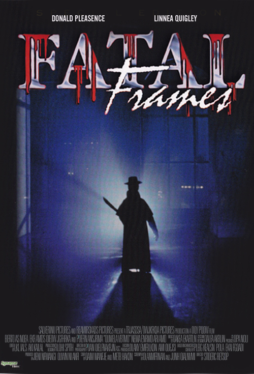<h2>Fatal Frames (1993)</h2><!--The effects for this film were supervised by Steve Johnsons XFX, but subcontracted to the North Hollywood company Altered Anatomy. Göran helped out with sculpting and casting for a variety of slasher effects. Steve and Bill Corso came by regularly to approve of the work. -->
