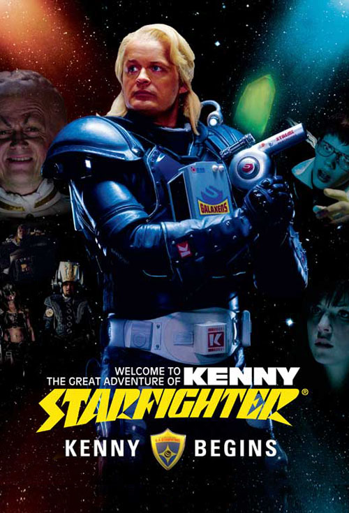 <h2>Kenny Starfighter - Kenny Begins (2008)</h2>EffektStudion designed the make-up for the character Rutger Oversmart played by actor Swedish actor Jan Myrbrand. We applied the make-up more than 10 times together with make-up department head Anders Bratås.