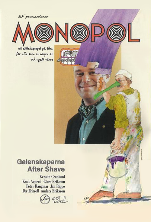 <h2>Monopol (1994)</h2>Göran made a very simple green fake nose for the head of make-up Julia Mengarelli
