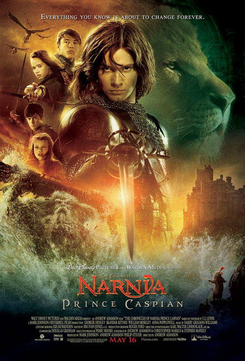 <h2>Narnia - Prince Caspian (2007)</h2>The make-up and creature fx for Prince Caspian were designed and supervised by Academy award winner Howard Berger from KNB EFX. Göran worked as prosthetics make-up artist on set applying make-ups on fauns, centaurs and dwarfs for the shoot in Europe during spring and summer of 2007.