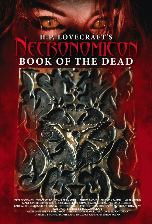 <h2>Necronomicon (1993)</h2>Bart Mixon supervised the build for the movie\'s reshoots at Fantasy II in Burbank. Göran worked only a few days with this amazing crew.