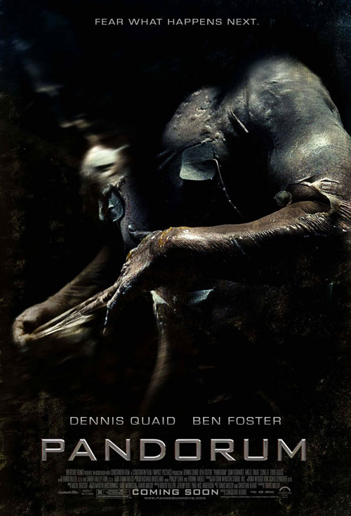 <h2>Pandorum (2008)</h2>The make-up effects for the movie were designed by legendary Stan Winston Studios. Göran participated briefly and applied the little girl-mutant make-up together with Arjen Tuiten from Stan Winston Studios.