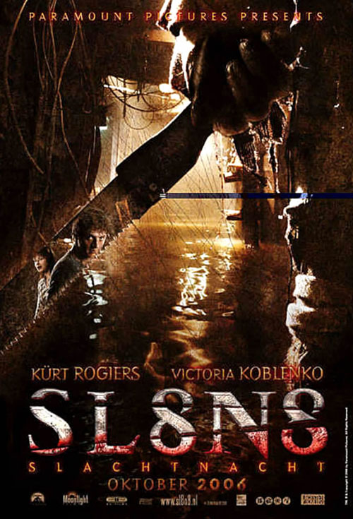 <h2>SL8N8 (2005)</h2>The effects for this film were created by Dutch company Unreal FX. Göran helped out with sculpting, painting and casting of different slasher effects.