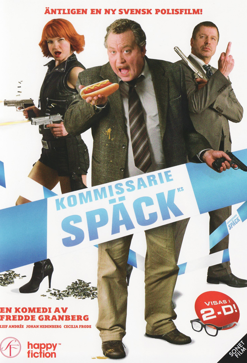 <h2>Kommissarie Späck (2009)</h2>EffektStudion created an effect where well known Swedish director Harald Hamrell (Beck-movies) was murdered in a very exaggerated fashion with a big knife. Unfortunatly the effect ened up on the cutting room floor since the scene opened the film and it was impossible to see the parody that early in the film.