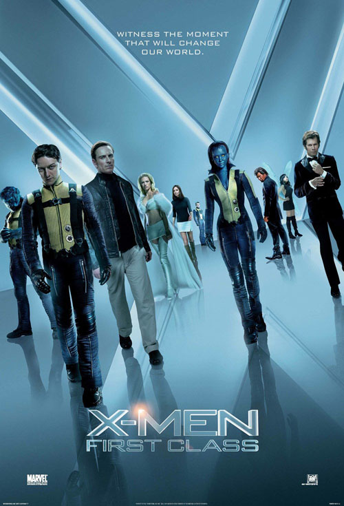 <h2>X-men: First Class (2010)</h2>The make-up effects for this X-men prequel were divided between several effects companies in England and the United States. Göran worked a couple of weeks for London-based company Coulier Creatures as a sculptor. They made a likeness dummy of Kevin Bacon that Göran sculpted, plus a few prosthetics for Mystiques stunt stand-ins.