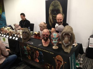 Brilliant creature designer Arturo Balseiro on the right and amazing creature sculptor Aris Kolokontes in the back