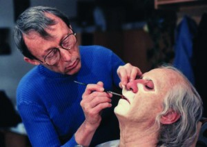 Contributing to Dick Smith's advanced professional make-up course