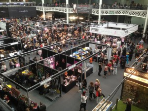 IMATS trade show floor at Kensington Olympia in London 2014
