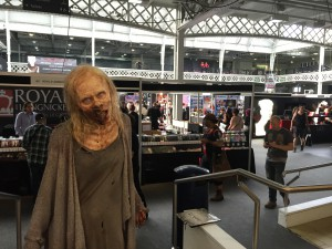 Our zombie at IMATS London