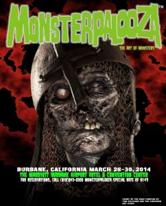 Attending the awsome Monsterpalooza 2014 in Los Angeles
